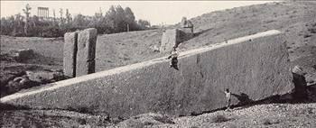 Baalbek'teki Kaya Taşları