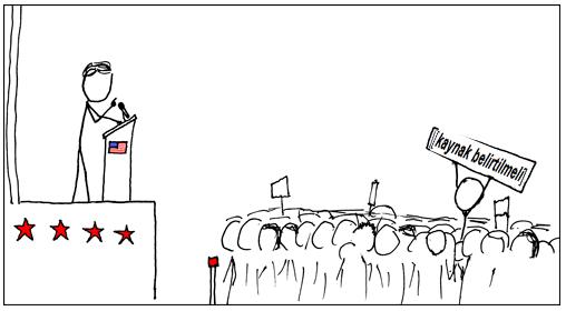Şekil 7. Vikipedi protestosu.