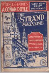 2. seri fotoğrafların yayınlandığı Strand dergisinin kapağı.