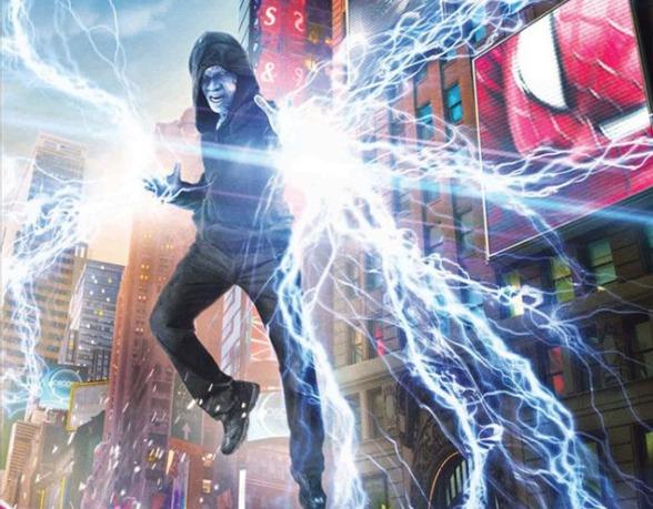 electro ve örümcek adam